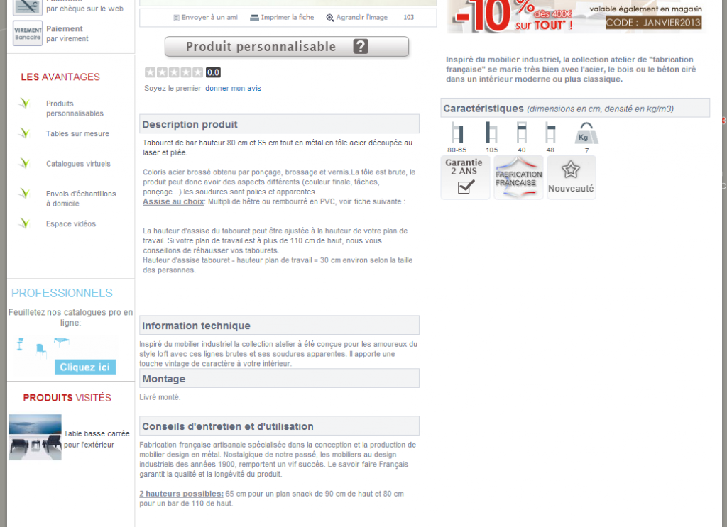 optimisation de site e-commerce au referencement naturel