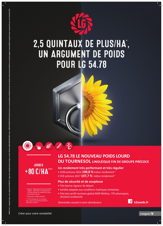 LG tournesol Poids A4 HD-1